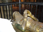Tomb of  the Black Prince at Canterbury